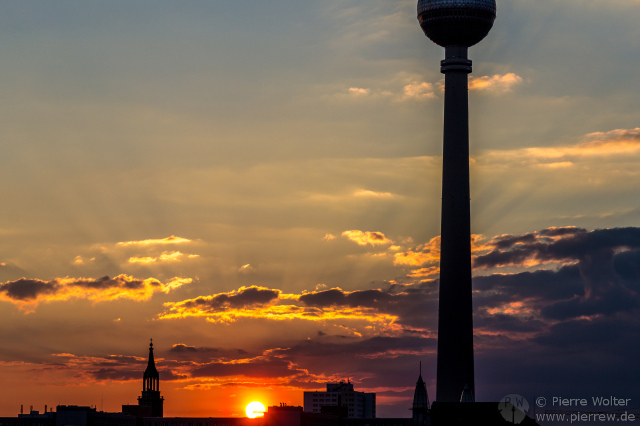 Sonnenuntergang, 27.05.2013