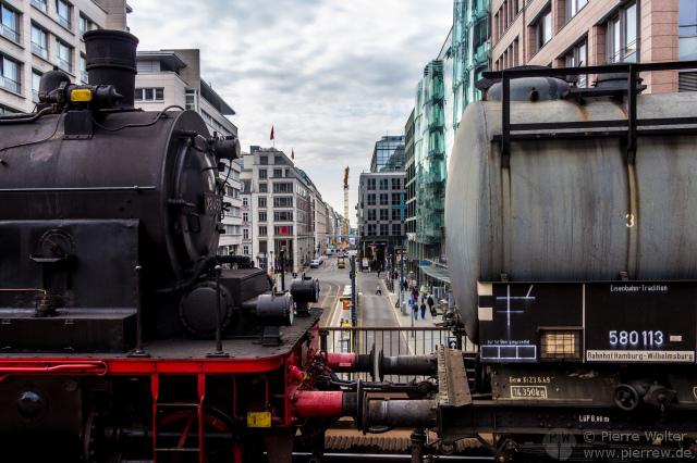 Zug der Erinnerung - Friedrichstr.