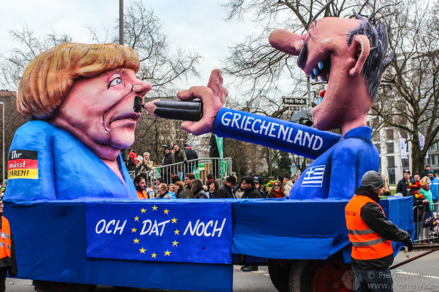 Merkel vs. Griechenland
