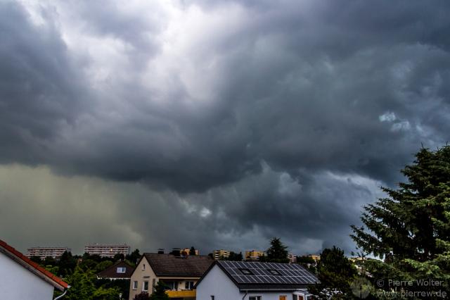 Gewitter in Kassel, 01.07.2013