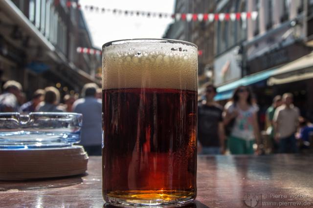 Alt-Bier im Auberge