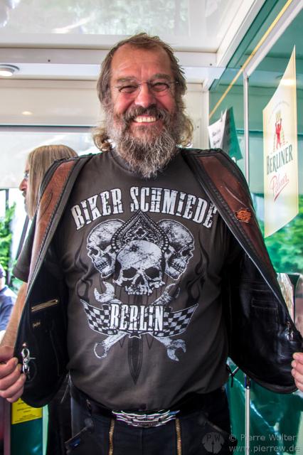15. Jahresparty der Biker-Schmiede Berlin