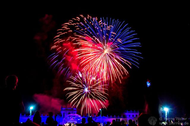 Feuerwerk @ HNA-Open Air Konzert in Kassel, 24.08.2013