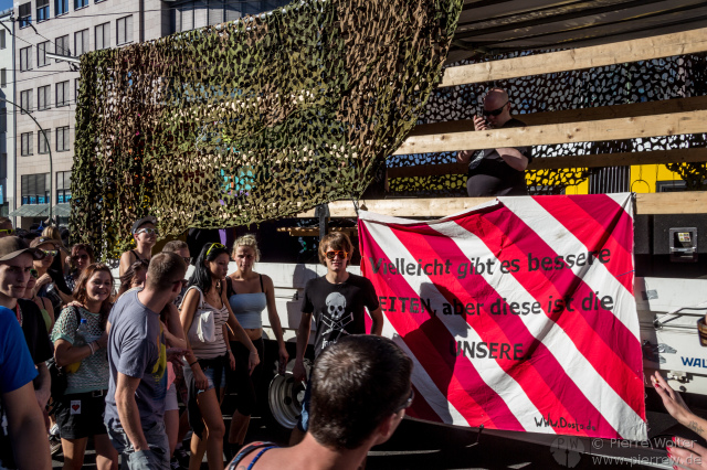 Fuckparade 2013 - Wagen 2