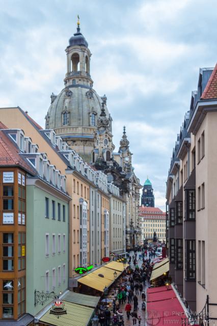 Dresden: Münzgasse / Frauenkirche