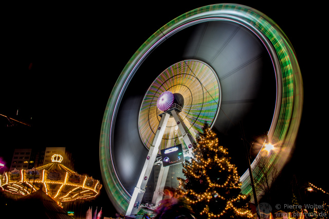 Steiger Riesenrad @ Wintertraum am Alexa 2013