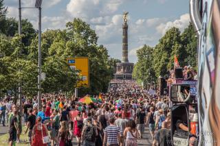 CSD Berlin 2013 - Erinnerung an die Loveparade-Zeiten