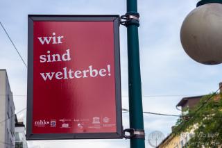 Stolz in Kassel in der ganzen Stadt