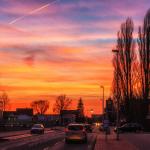 Sonnenuntergang 17.02.2014
