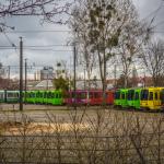 üstra-Streik, 19.03.2014 // Straßenbahn-Depot