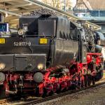 Dampflokomotive 52 8177-9 in Lichtenberg