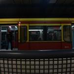 S-Bahn mit Sitz davor, haha.