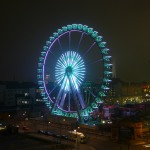 Riesenrad Wintertraum