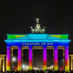 FoL 2014 // Brandenburger Tor // Colours of Joy