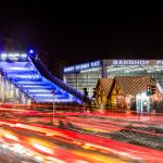Winterwelt am Potsdamer Platz // Traffic Trails