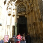 078 Katedrála svatého Víta (St. Vitus Cathedral - Veitsdom) - Entrance