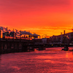 Sonnenaufgang am 15.01.2015