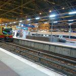 Ostbahnhof mit S-Bahn und ICE (31.12.2011)