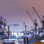 Kräne Hamburger Hafen