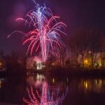 Osterfeuerwerk 2015 der HOWOGE