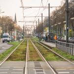 Prenzlauer Allee // Straßenbahngleise