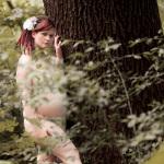 Aerwyna mit Babybauch