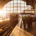 Alexanderplatz Station Sunset