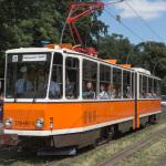 Historische BVG-Tram // KT4D in Ostfarben