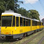 BVG-Tram KT4Dmod 6059