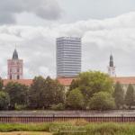 Frankfurt (Oder) gesehen aus Slubice