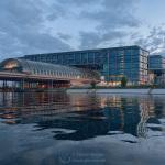 Hauptbahnhof am Abend // Metaxa Bay