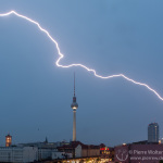 74,4 kA-Blitz auf dem Weg zur Schönhauser
