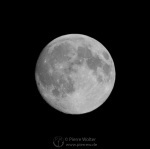 Nahansicht vom Mond
