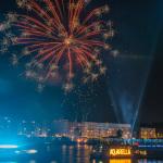 Aquarella-Feuerwerk