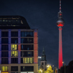 Berlin leuchtet: DomAquaree, Fernsehturm