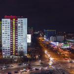 Alexanderstr./Holzmarktstr. bei Nacht