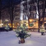 Weiße Weihnacht verspätet