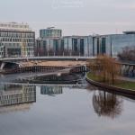 Spree und Regierungsviertel am Kapelle-Ufer