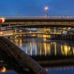 Brücken über Spree zum Regierungsviertel
