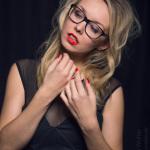 Claudia Magira im Studio