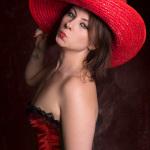 Tamara Mexikana in Red