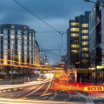 Rush Hour auf der Friedrichstr.