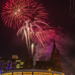 Geburtstagsfeuerwern 2/2016 das Schloss