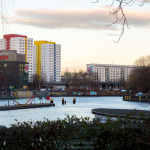 Blick zur Jannowitzbrücke von West