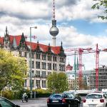 Baustelle Berlin-Mitte mit Hochzeitshaus