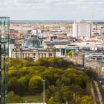 Panoramapunkt // Sicht Richtung Regierungsviertel