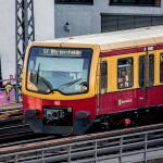 Berliner S-Bahn von vorne
