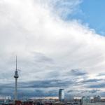 Eisschirm über Berlin