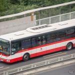 Ein Bus in Prag