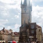 Turm der astronomischen Uhr in Prag
